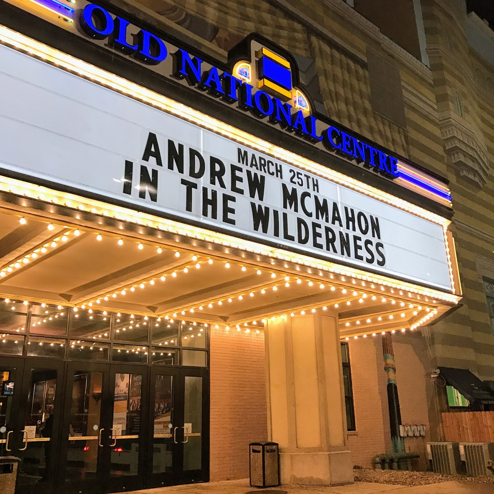 Andrew McMahon in the Wilderness Zombies In America Tour Indianapolis