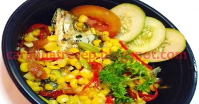 CARA MEMBUAT TUMIS IKAN PEDA JAGUNG MANIS | Resep Masakan