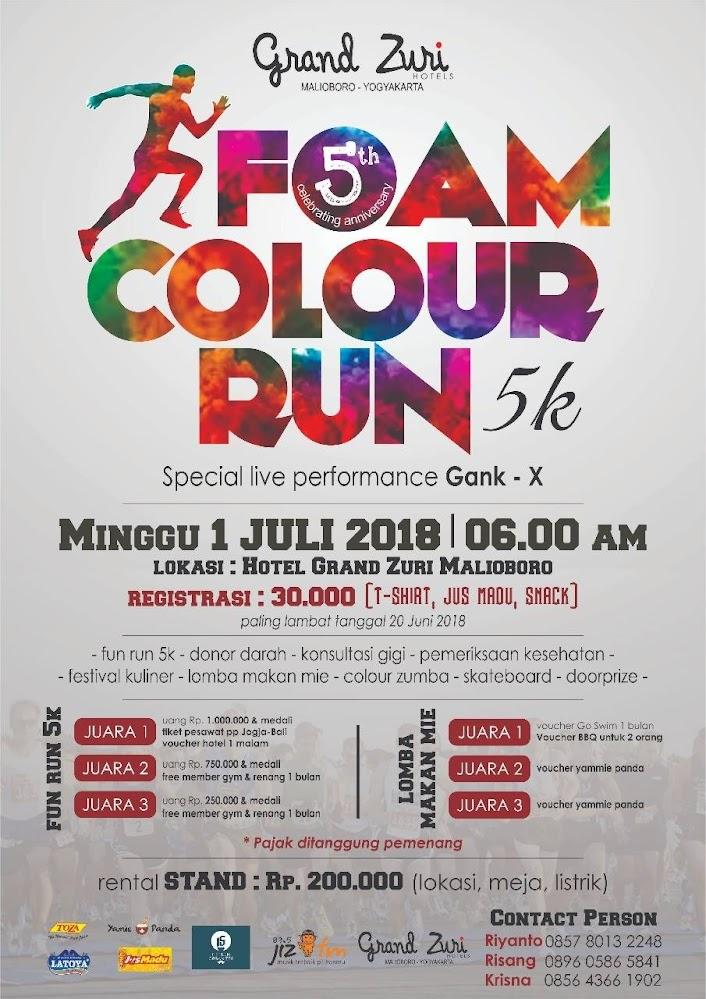 Foam Colour Run • 2018