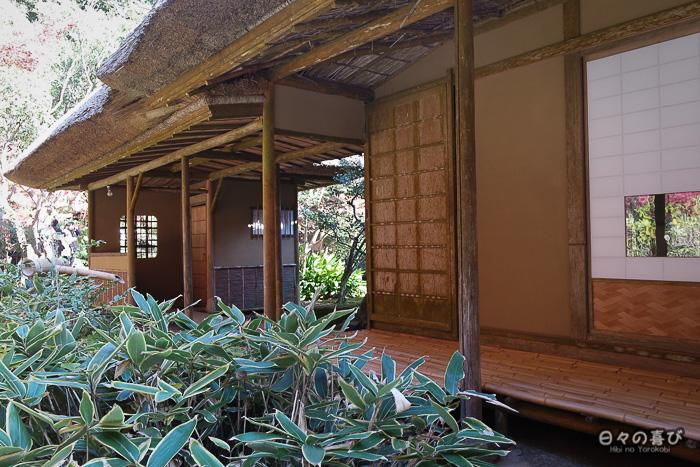 Arrière du pavillon de thé de Kunenan, Kanzaki, Saga