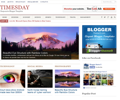 Times Day Responsive Template