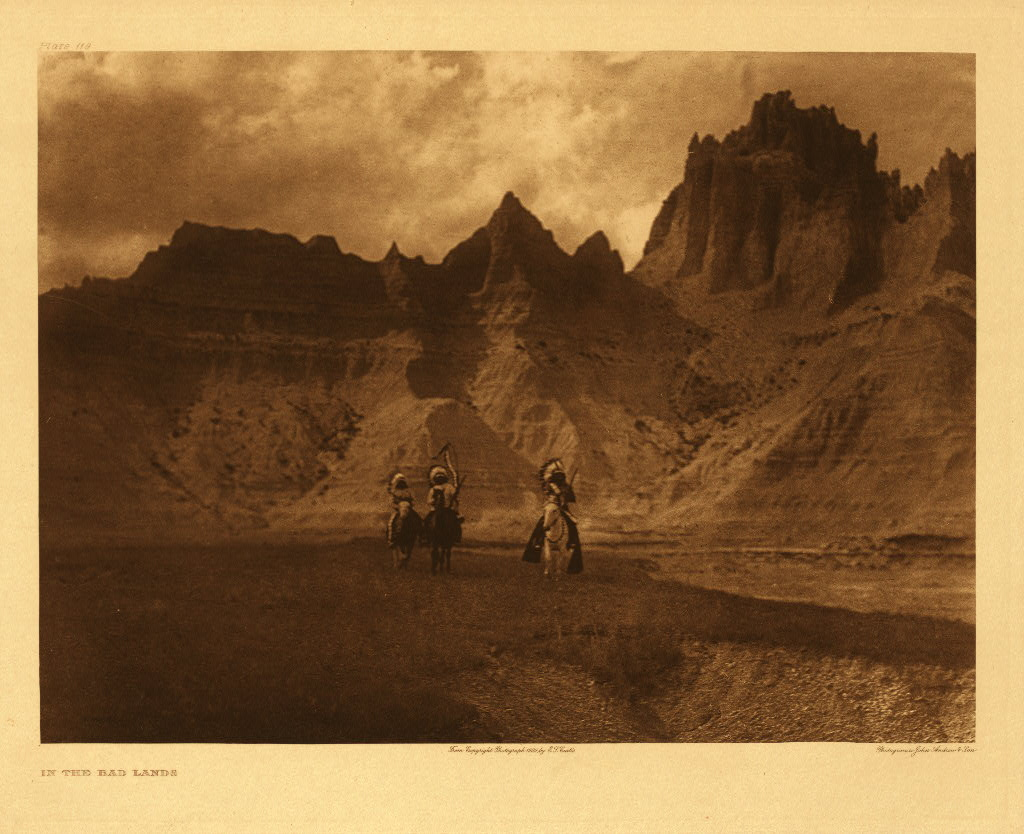 American Indian Dakota Ioux Badlands Reservation on Sioux Indian Reservation Map