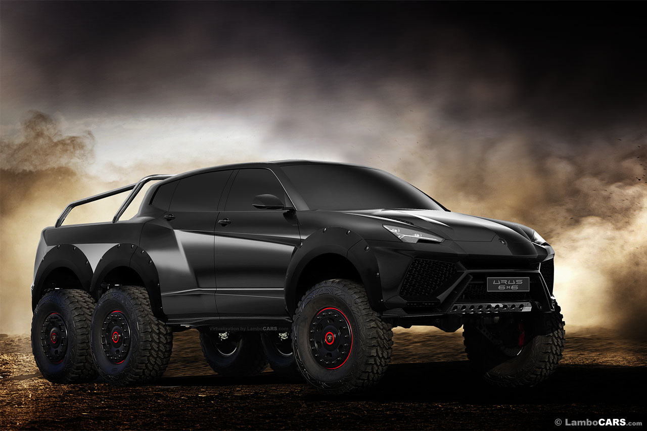 Car And Truck >> A Lamborghini Urus 6x6 Would Make That Mercedes Look Tame | Carscoops
