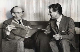 Aaron Copland & Leonard Bernstine