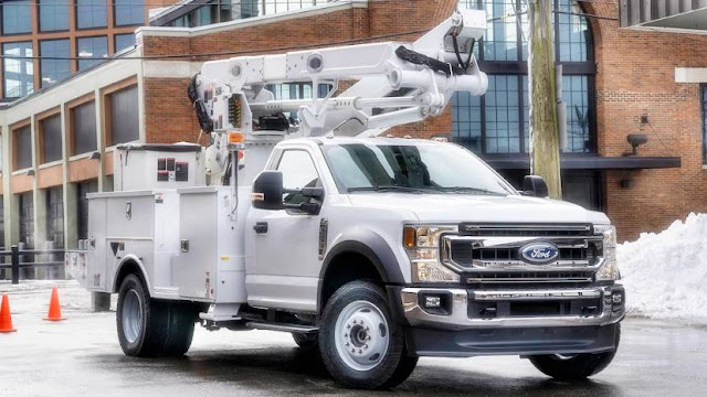 Redesigned 2020 F-600 Super Duty