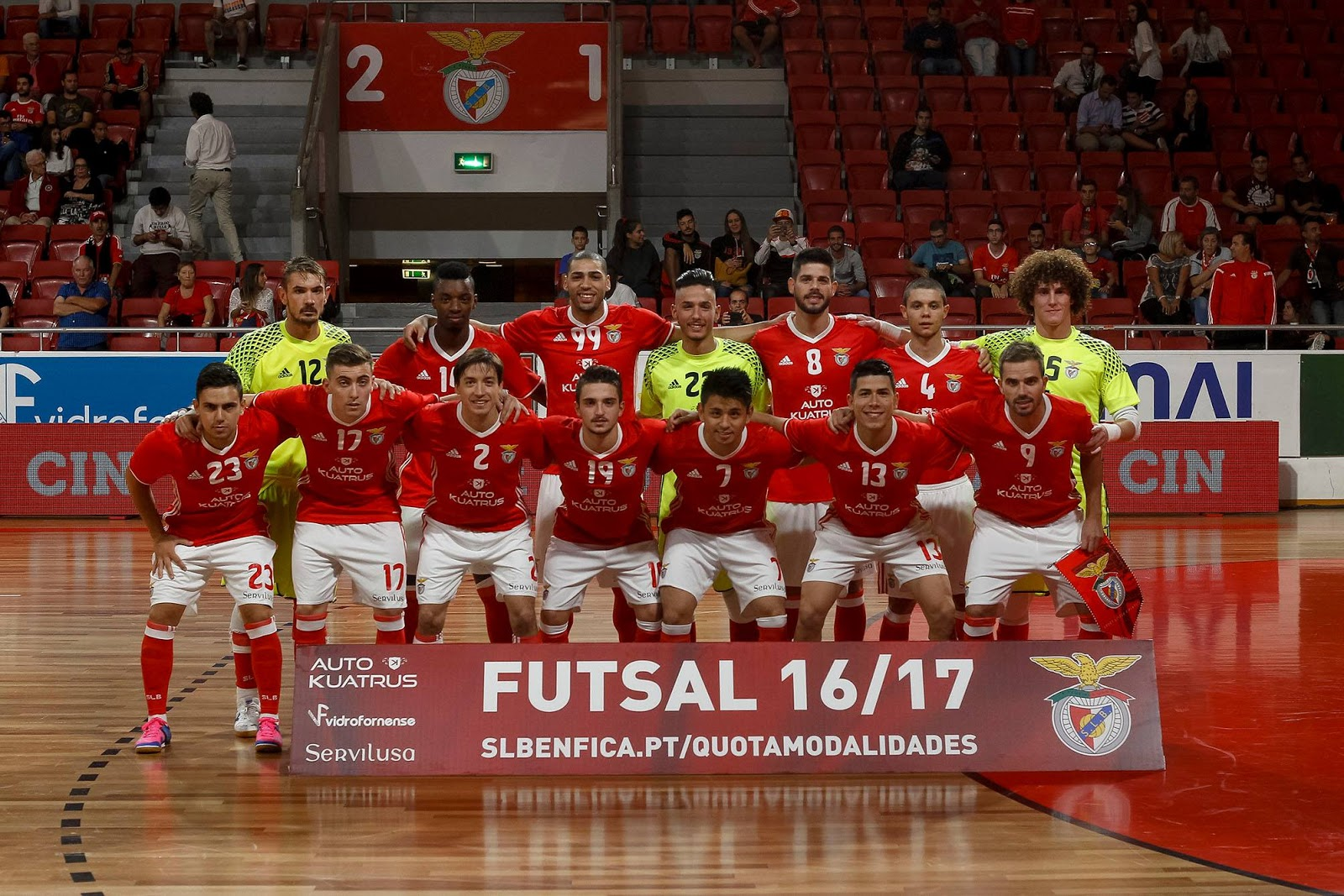 9597b4bcfb Benfica Eclético  Futsal SL Benfica - 2016 2017