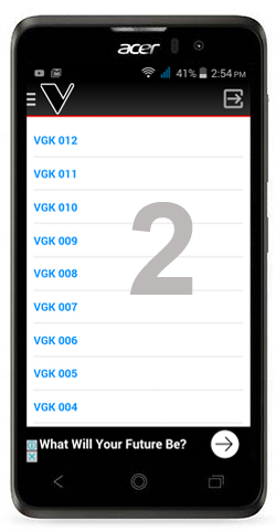 NEW 1001 VGK FOR ANDROID AND TABLET