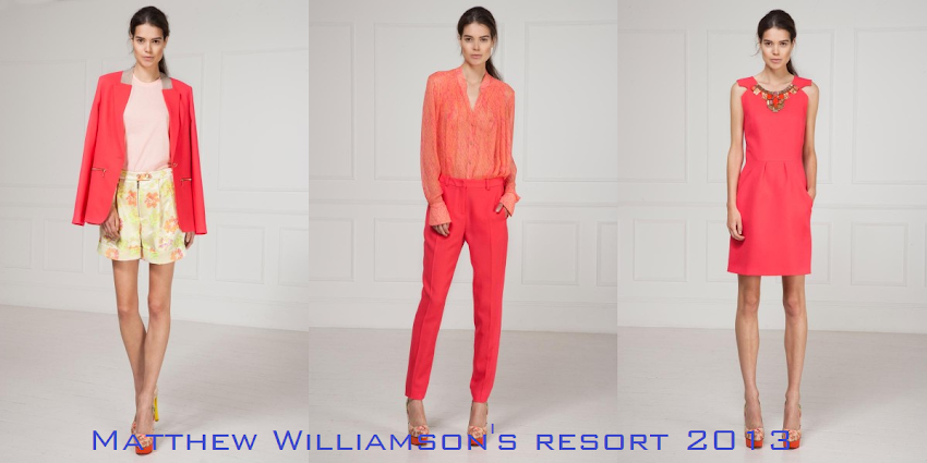 MATTHEW WILLIAMSON'S Resort 2013