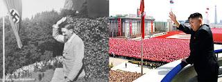 Propaganda Kim Jong Un Mirip Seperti Hitler