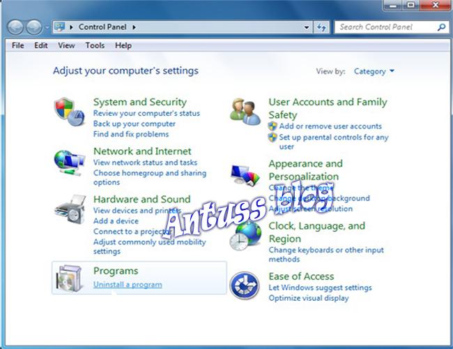 Antuss Blog Cara Nonaktifkan Internet Explorer 8 Di Windows 7