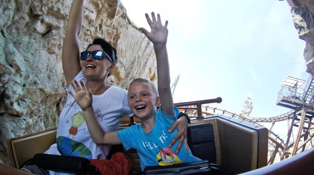 Gardaland, parki rozrywki, garda, wakacje z dzieckiem, wakacje włochy