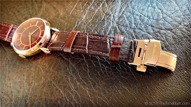 Millésime Merveilleux strap and clasp