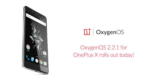 Update OxygenOS v2.2.1 untuk OnePlus X sudah digulirkan via OTA