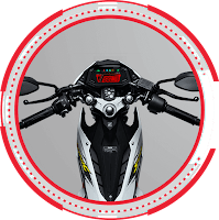 New Clip on Handle Bar SONIC 150R STANDARD 2018 Sejahtera Mulia Cirebon