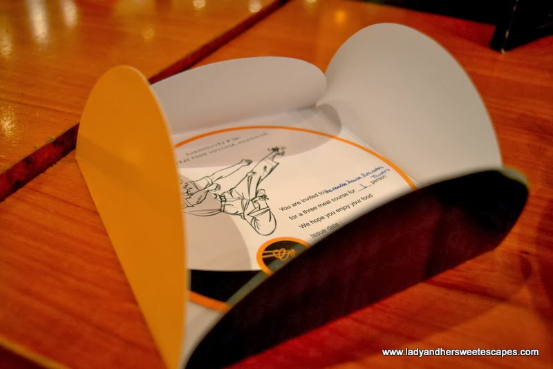 The Noodle House 3-course meal voucher