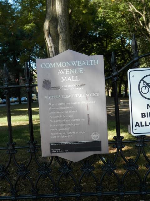 Commonwealth Avenue Mall Boston