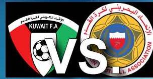 الكويت والبحرين الموعد والتوقيت والمعلقين والقنوات الناقلة مباراة ودية