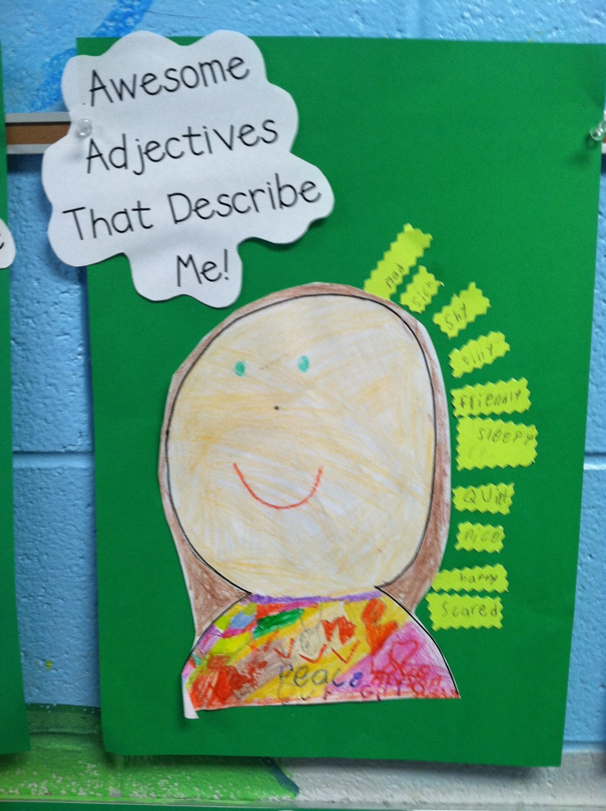 Life In First Grade Awesome Adjectives And Anchor Charts