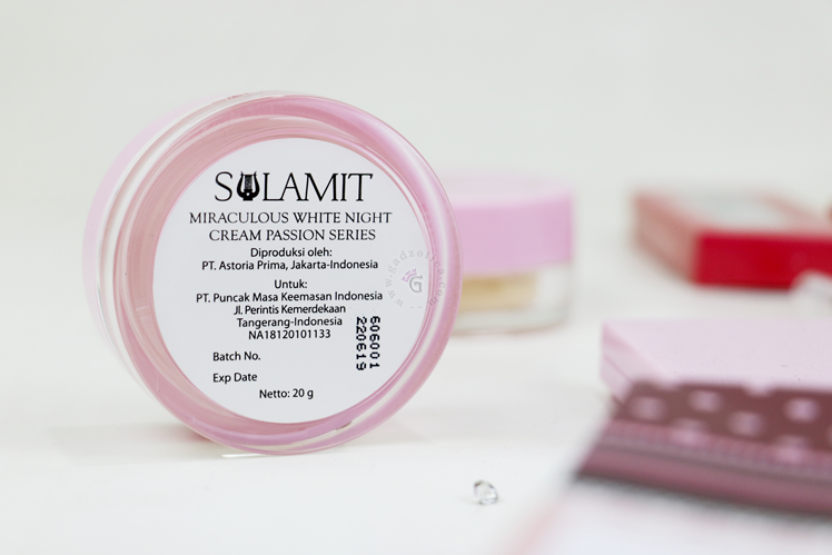 Sulamit White Night Cream