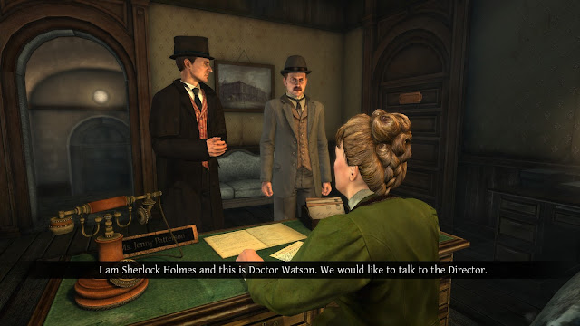 Screenshot of The Testament of Sherlock Holmes