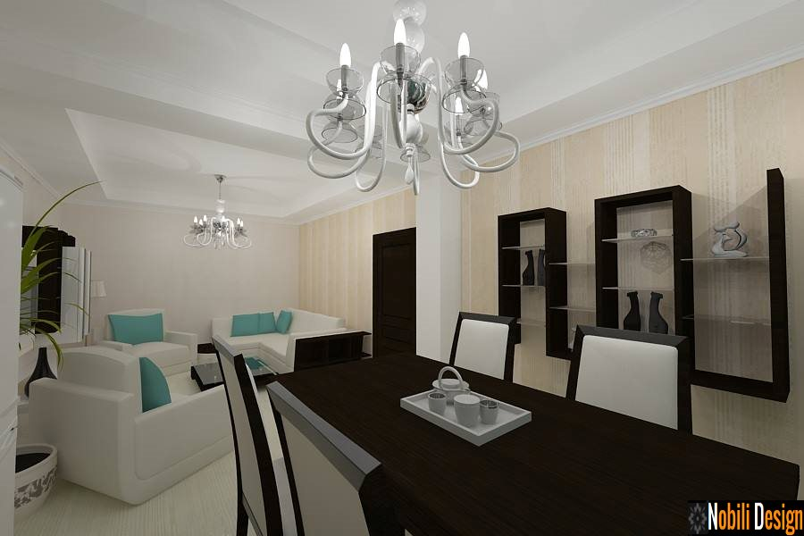 Design interior casa stil modern - Bucuresti