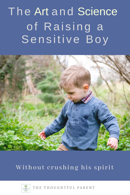 The Art and Science of Raising a Sensitive Boy (Without Crushing his Spirit)