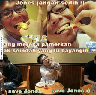 Meme Comic Indonesia terbaru Lucu jones