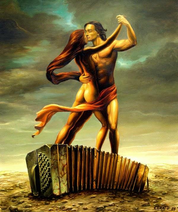Passional - Ileana Cerato e seu surrealismo nostálgico ~ Pintor argentino