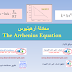 معادلة أرهينيوس The Arrhenius Equation