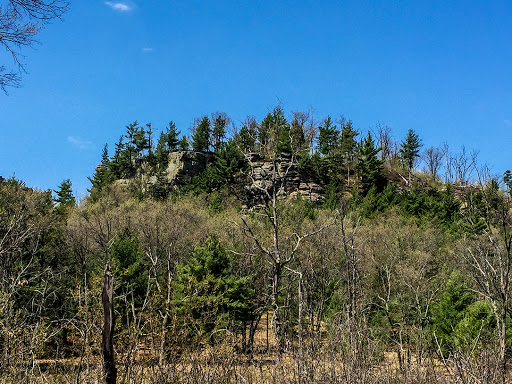 Lone Rock at Quincy Bluff State Natural Area