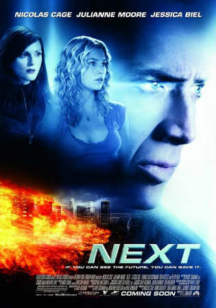 Next 2007 BluRay 350Mb Hindi Dual Audio ORG 480p