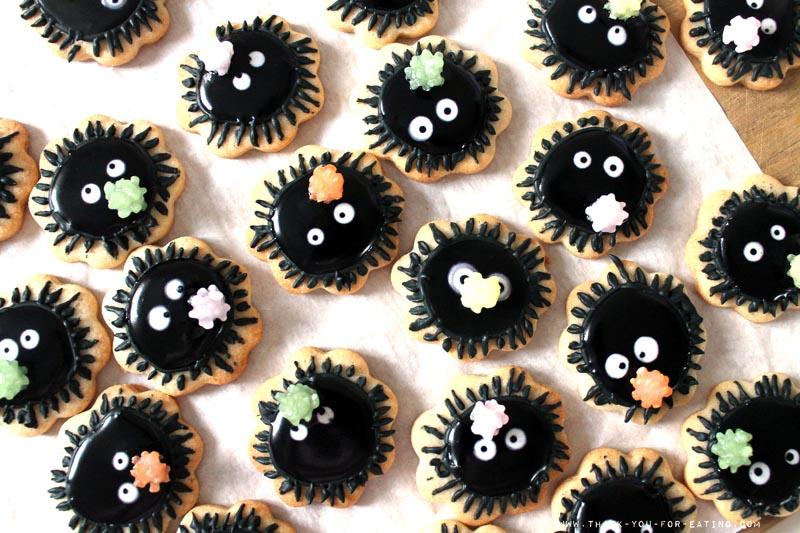 Susuwatari Cookies - Rußmännchen Cookies