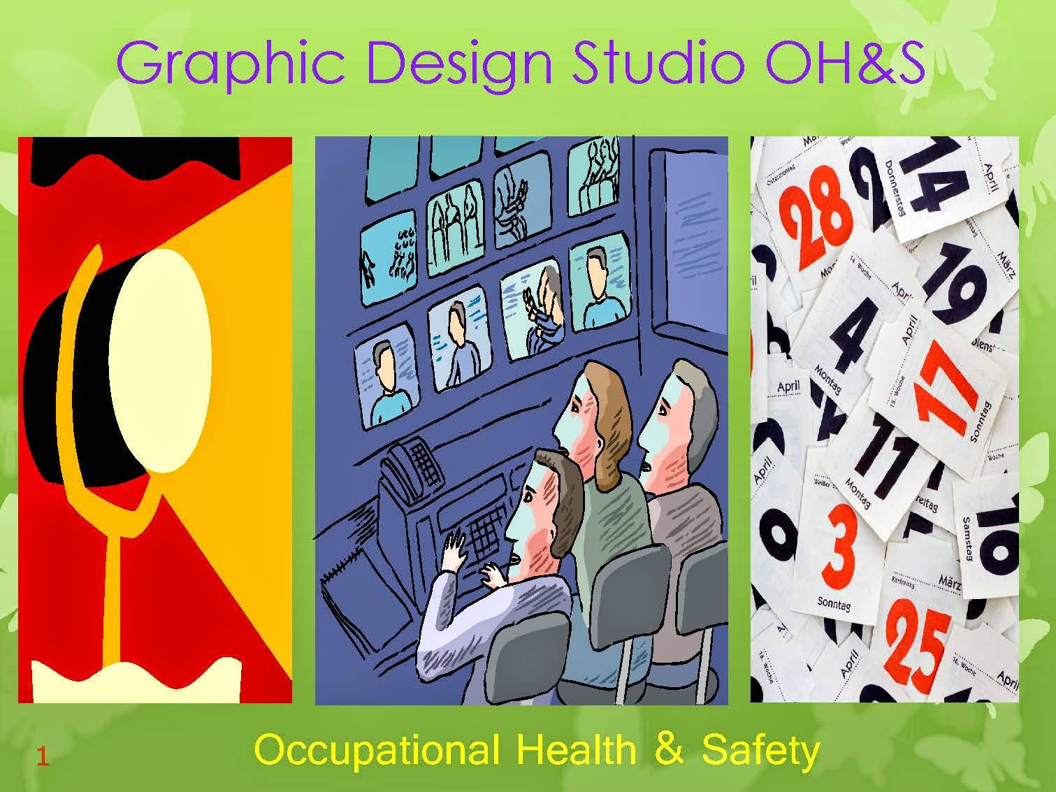 DESIGN STUDIO OCCUPATIONAL HEALTH AND SAFETY