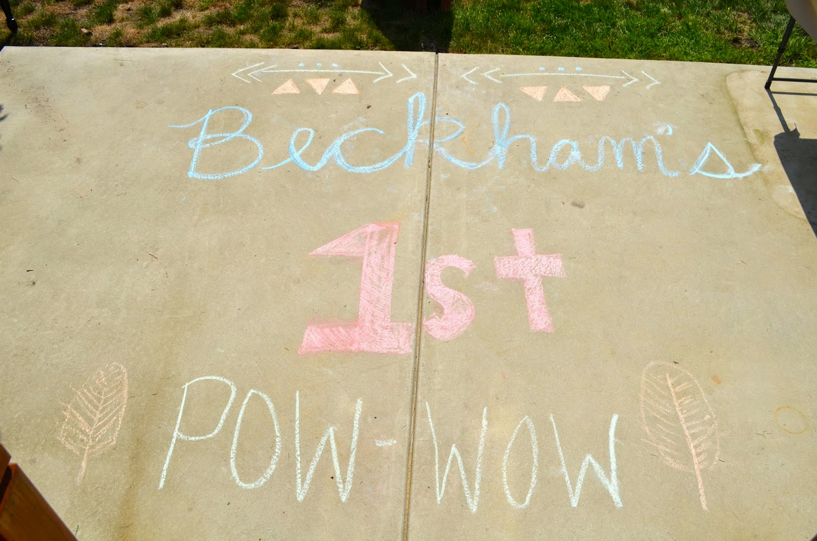 Beckham's First PowWow