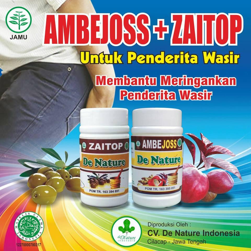 Kapsul Ambejoss dan Zaitop Solusi Menyembuhkan  Wasir / Ambeien / Hemoroid Tanpa Operasi
