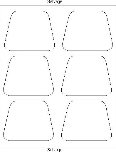 Sid's In Stitches: Easy Placemats for a Round Table Free