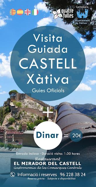 visita y comida en Xàtiva