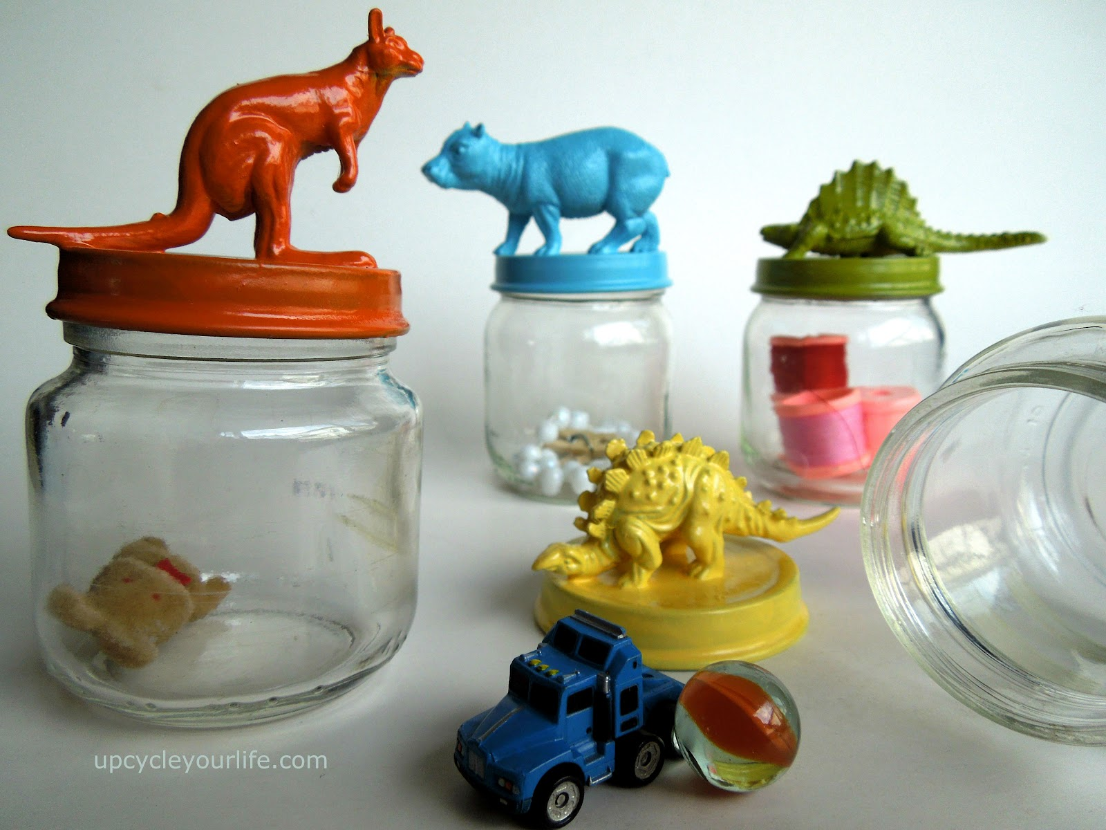 Baby Food Jar Storage Ideas