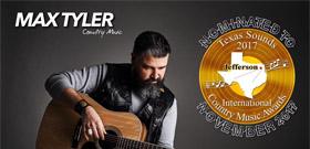 Max Tyler, nominat als premis Texas Sound