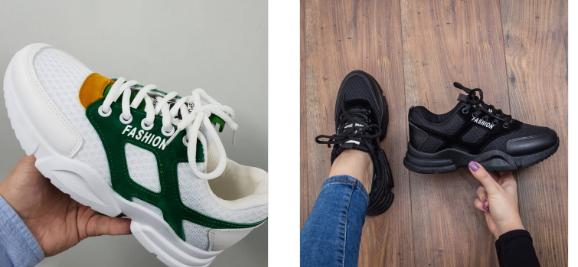 Adidasi fashion dama negri, albi in tendinte 2019 ieftini