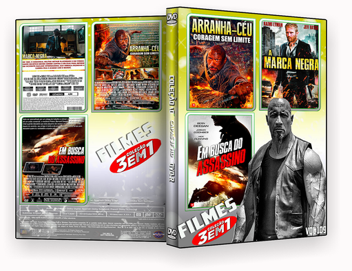 COLEÇÃO FILMES 2018 DVD-R VOL 109 DVD-R