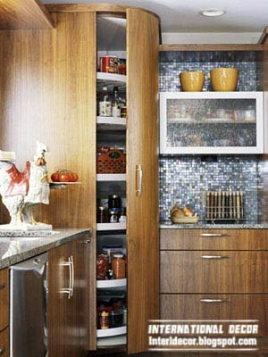 high cupboards reach the ceiling to maximize space, kitchen storage solutions