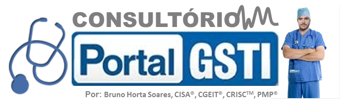 Logotipo do Portal GSTI e Bruno Horta
