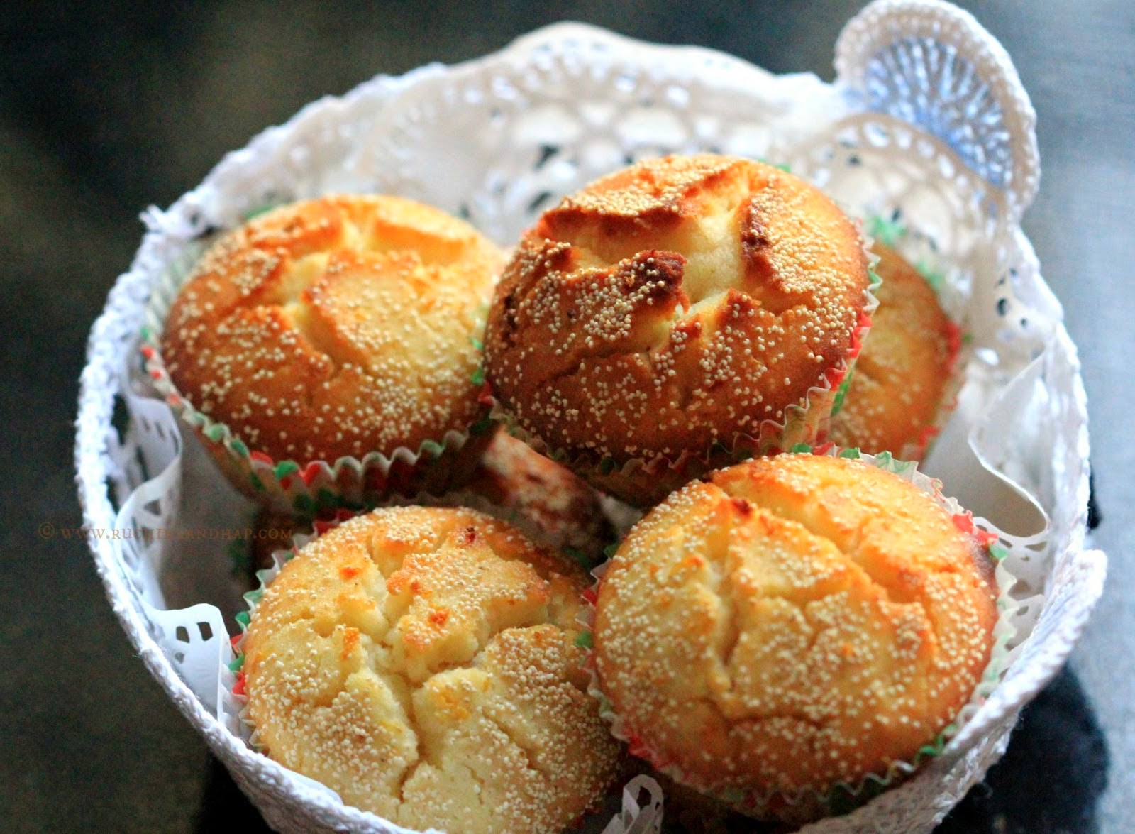 Lime Poppy Seed Muffins Recipe