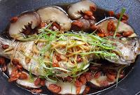 Stim grouper ala Hong Kong