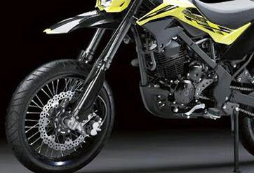 Spesifikasi dan Harga Motor Kawasaki D Tracker 2018, Versi Standar dan Special Edition.