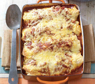 mole shredded pork enchiladas recipe