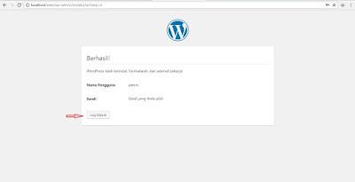 Install Wordpress di XAMPP