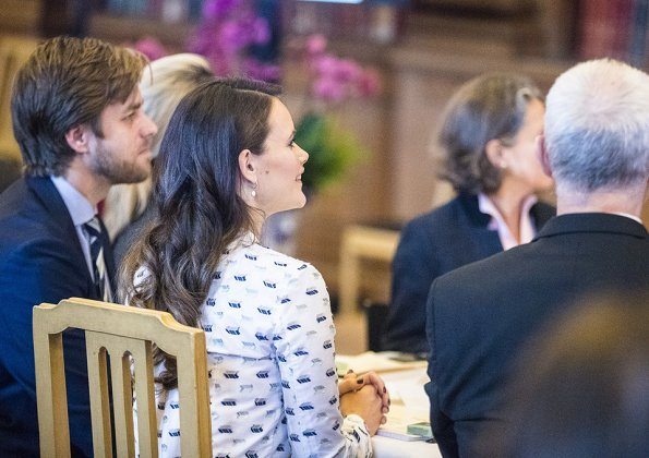 Princess Sofia wore RODEBJER Palasan Dress. Queen Silvia, Princess Sofia Hellqvist and Prince Carl Philip