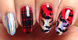 Bat Stamped Nails